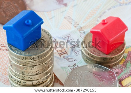 Mortgage lending - stock photo