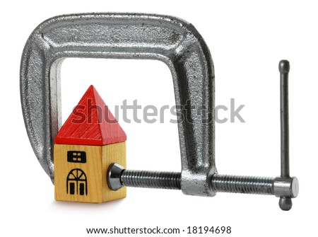 Mortgage Pressure - stock photo