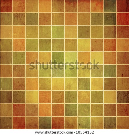 Mosaic background - stock photo