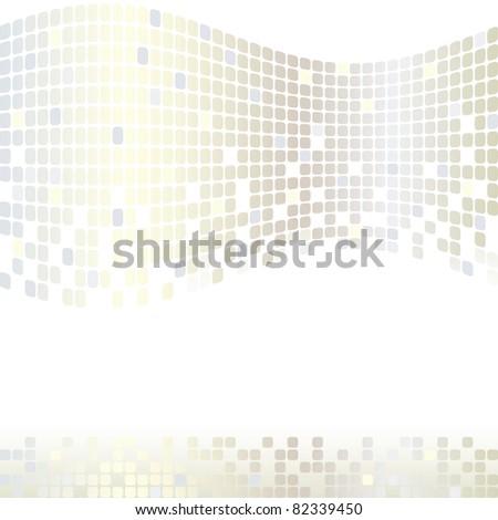 Mosaic color illustration vector design - stock photo
