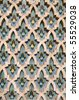 Mosaic detail - Hassan II Mosque - Casablanca - Best of Morocco - stock photo
