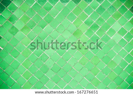 mosaic glass wall texture decoration background - stock photo