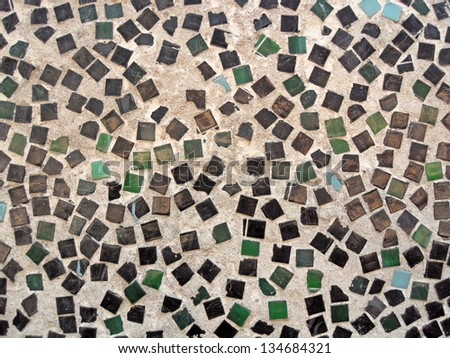 mosaic pattern - stock photo