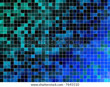 Mosaic texture background - stock photo