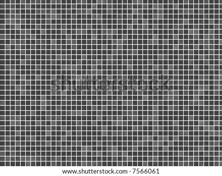 mosaic tile in a bathroom wall texture - stock photo