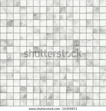 mosaic tile seamless texture - stock photo