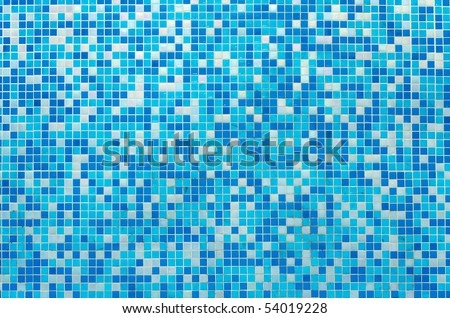 mosaic tiles, laid on the wall. background
