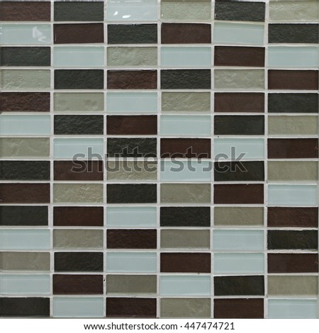 mosaic tiles,pattern seamless for decoration - stock photo