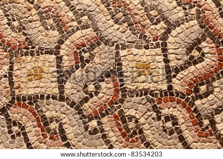 Mosaic Tiles - Patterns and Designs - stock photo
