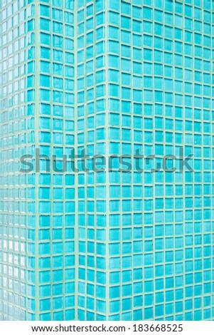 mosaic tiles texture - stock photo