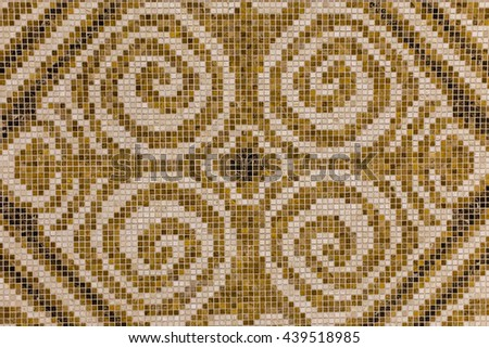 Mosaic tiles texture / background