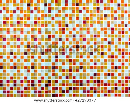 mosaic wall tile lava hot tone color high resolution