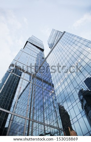 MOSCOW - AUGUST 30: The Moscow International Business Center, Moscow-City on August 30, 2011 in Moscow. Located near the Third Ring Road, the Moscow-City area is currently under development.