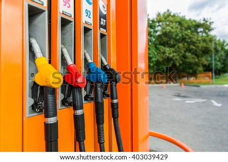 Moscow gasoline station