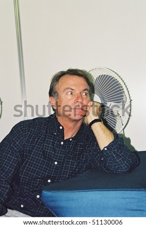 MOSCOW - JULY 27: Sam Neill arrives for photocall the 22th Moscow International Film Festival on July 27, 2000 in Moscow, Russia - stock photo