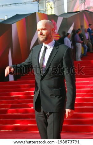MOSCOW - JUNE 20, 2013: American film director Marc Forster at XXXV Moscow International Film Festival red carpet opening ceremony.
