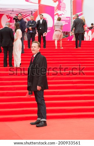 MOSCOW - JUNE, 19: American singer Jace Everett. 36th Moscow International Film Festival. Opening Ceremony at Pushkinsky Cinema . June 19, 2014 in Moscow, Russia