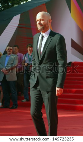 MOSCOW - JUNE 20: Film director Marc Forster at XXXV Moscow International Film Festival red carpet opening ceremony. Taken on June 20, 2013 in Moscow, Russia.