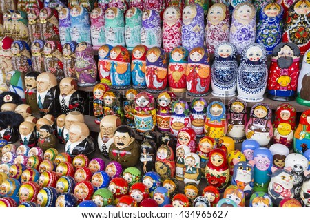 Souvenirs At The Russian