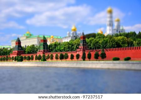 Moscow Kremlin - stock photo