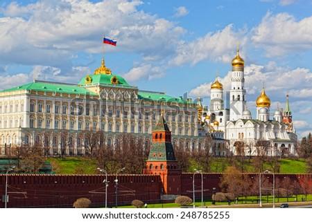 Moscow Kremlin, Grand Kremlin Palace, Moscow - stock photo