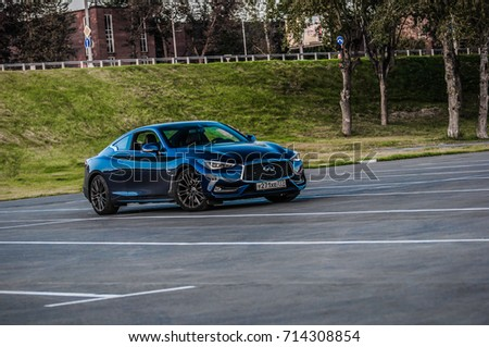 Moscow Russia September 1 2017 Infiniti Stock Photo Royalty Free