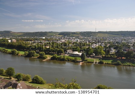 Moselle, Treves, Germany