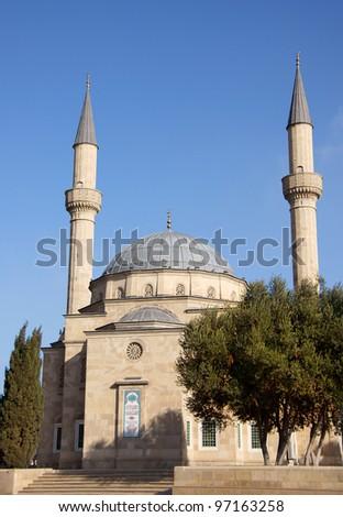 Mosque at Baku, Azerbaijan - stock photo