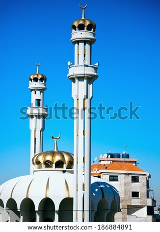 Mosque in Lebanon - suburbs of Beirut