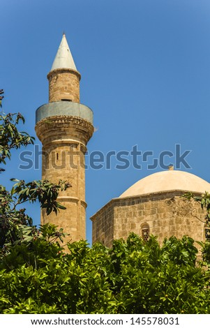 Mosque in Paphos, Cyprus