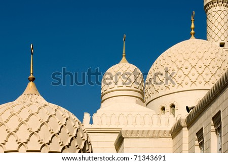 Mosque Minaret, Dubai - stock photo