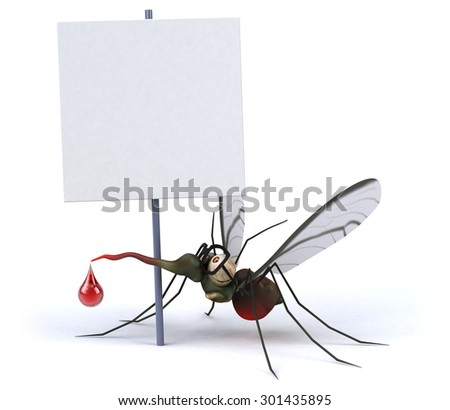 Mosquito - stock photo