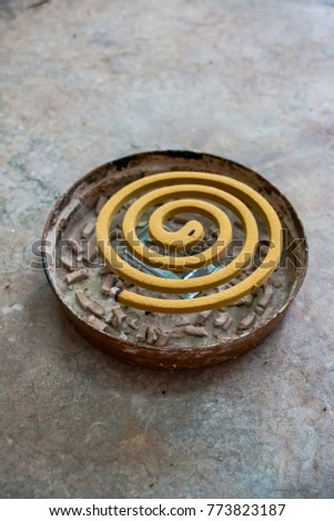 Mosquito Coil Kind Mosquito Repellent Incense Stock Photo 773823187