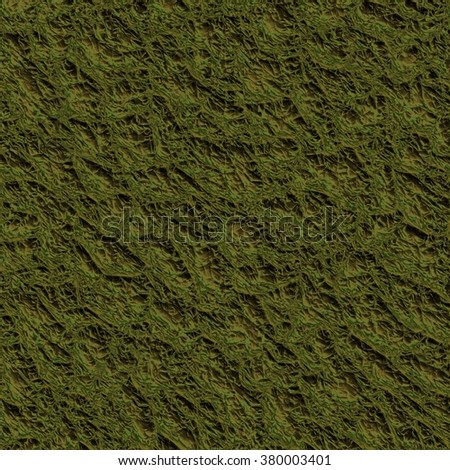 moss texture generated. Seamless pattern.