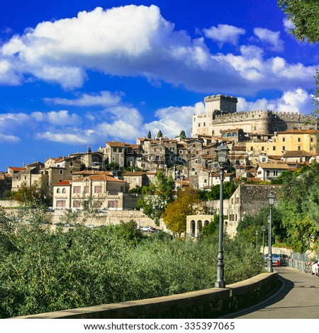 most beautiful medieval towns of Italy - Sermoneta