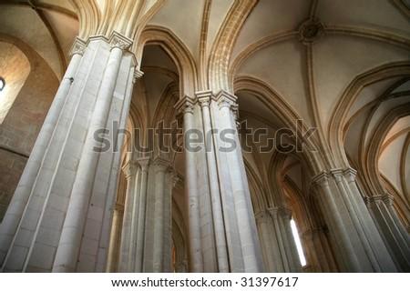 Mosteiro de Alcobasa - stock photo