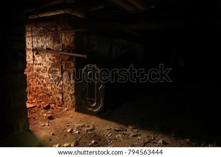dark basement stairs. Delighful Basement Mostly Dark Spooky Basement Light Coming From The Stairs With Dark Basement Stairs