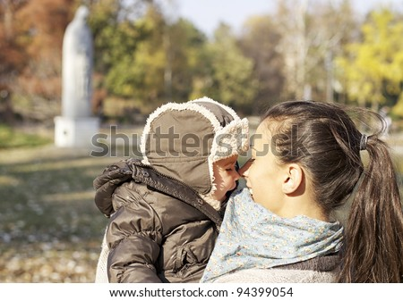 Mother and baby love - stock photo