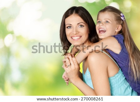 Mother, Child, Daughter. - stock photo