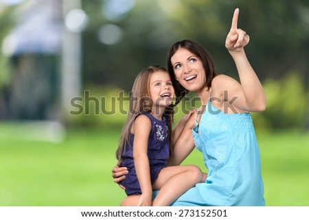 Mother, Child, Family. - stock photo