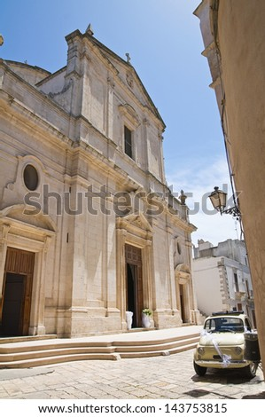 Mother Church of Assumption. Ceglie Messapica. Puglia. Italy.