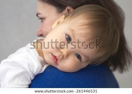 Mother Breastfeeding Her Newborn Stock Photo 114432022