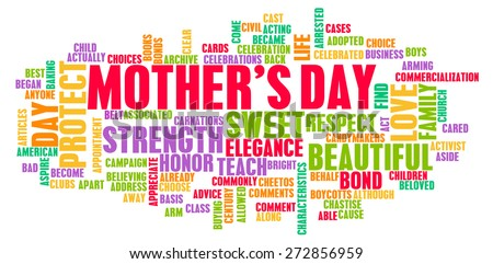 Mother's Day As a Special Day with Words