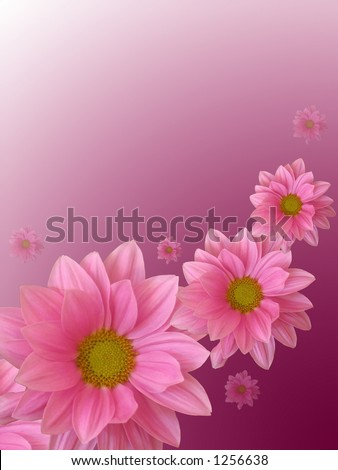 Mother's day card - stock photo