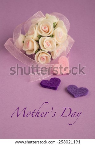 mother's day greeting - stock photo