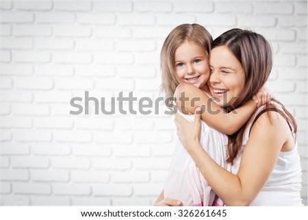 Motherhood. - stock photo