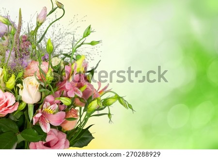Mothers Day, Flower, Bouquet.