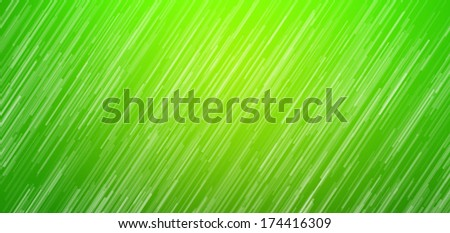 Motion on green background, Abstract background.