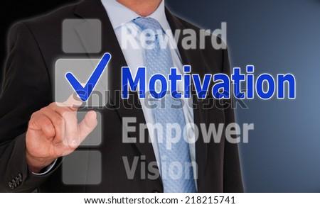 Motivation - stock photo