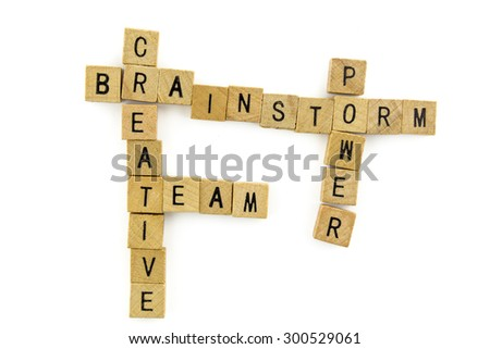 motivation word wooden alphabet blocks on white background from top view